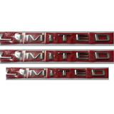 Kit Emblemas Limited Laterais Traseiro 3 Peç Ranger + Brinde