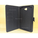 Capa Case Pasta Galaxy Tab A 10.1 P585m + Película De Vidro