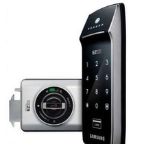 Fechadura Digital Samsung Shs-2320 Touch Screen Porta Correr