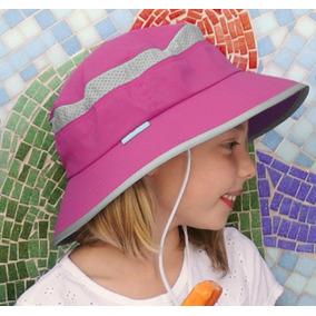 e6350bf07e46d Sombrero Kids Fun Bucket Niña Protección Solar Upf 50+ Playa