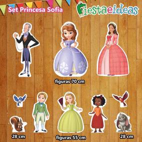 Figuras Coroplast Princesa Sofia