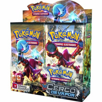 Pokemon Booster Box Caixa Xy11 - Cerco De Vapor