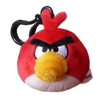 Angry Birds-chaveiro Pelúcia Pássaro Vermelho Toyng 90789