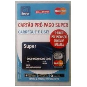 Cartão Pré-pago Mastercard Super