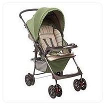 Carrinho Berço Para O Bebê Hercules Tópazio Campo Verde