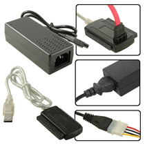 Cable Adaptador De Disco Duro Sata / Ide A Usb 2.0