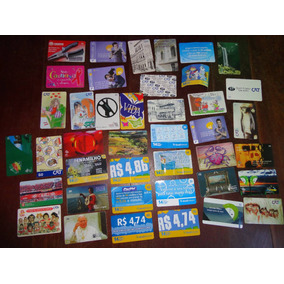 Cartões Telefônicos Diversos