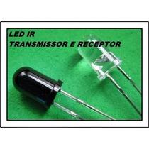 Led Ir Infravermelho Transmissor Receptor Remoto Arduino Sp