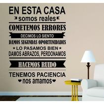 Vinilos Decorativos Pared Mandanos Tu Frase + Regalo