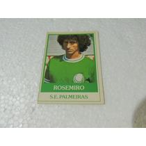 Card Original Rosemiro Nº 20 Palmeiras Futebol Ping Pong
