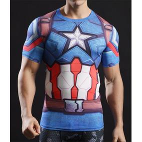 Remera Capitán América Civil War