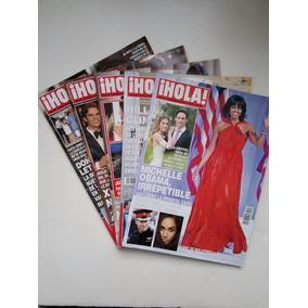 Lote De 5 Revistas Hola 2016 - Agosto, Sept, Octubre, Noviem