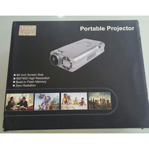 Micro Projetor Portatil De Bolso
