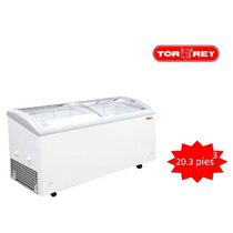 Congelador Horizontal Con Tapa De Cristal Curvo Chc180c