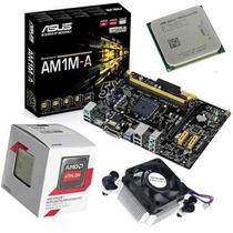 Kit Pc Asus Placa Mãe + Processador Amd Athlon 5150