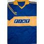 Camiseta Boca Fiat Retro 1990 -1991 Latorre Batistuta