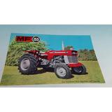 Antigua Hoja Catalogo Original De Tractor Massey Fergusson