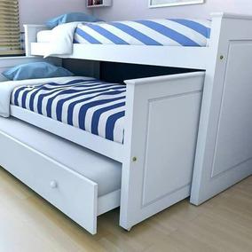Cama nido camas en mercado libre argentina for Camas infantiles dobles