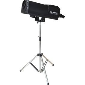 Canhao Seguidor Com Lampada Beam 200 5r 7 Cores + Branco Dmx