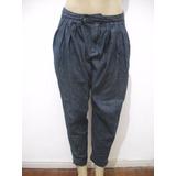 Calça Jeans Tipo Saruel Dopping Tam 38 Usado Bom Estado