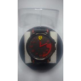 Relógio Masculino Ferrari + Brinde