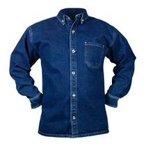 3 Camisas De Mezclilla Industrial 8.5 Oz