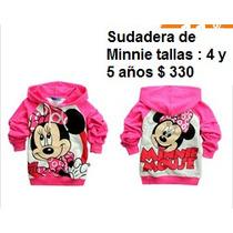 Ropa Casual Para Niñas De Minnie Mouse Op4