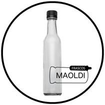 Botella De Vidrio Tradicional 250 Ml 24 Pz Bote Maoldi