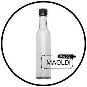 Botella De Vidrio Tradicional 250 Ml 48 Pz Maoldi Envase