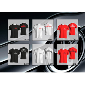 Remeras Estampadas Toyota + Calco De Regalo