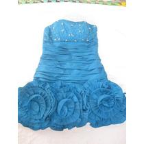 Vestido Elegante Corto Con Bufanda