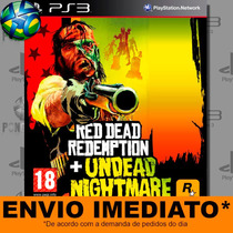 Red Dead Redemption + Undead Nightmare - Ps3 - Promoção !!