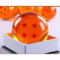 Esfera Do Dragão 4 Estrelas Tamanho Grande Real 8cm Goku Dbz