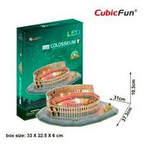 Cubicfun Rompecabezas 3d Led Coliseo Romano