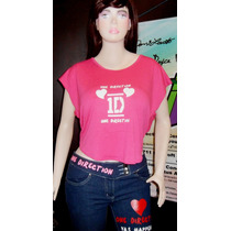 One Direction Camisa Artistas Online Talla M Juvenil