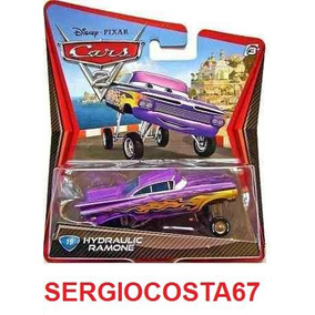 Disney Cars 2 Hydraulic Ramone Roxo Erguido Frete Baixo