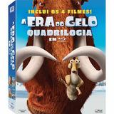 Blu-ray - A Era Do Gelo - Coleção Completa (lacrado)