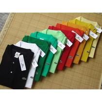 Kit 10 Camisas Camiseta Polo Social Lacoste Social Atacado