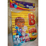 Bienvenido A Mi Fiesta Dra Juguete Dora Chavo Toy Cotillon