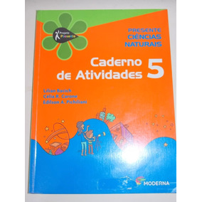 Projeto Presente- Ciências Naturais-caderno De Atvidades 5