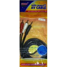 Cable Auxiliar De Audio Plug Jack 3.5mm Macho A 2 Rca Macho