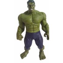 Boneco Incrivel Hulk Articulavel Vingadores Avengers 30 Cm