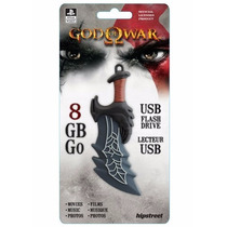 Hipstreet Unidad Usb De 8gb God Of War Sony Play Station