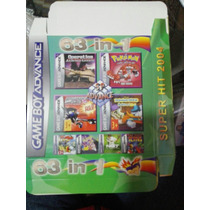 Cartucho De Game Boy Advance 63 En 1