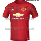 Camisa Manchester United 2016 - 2017
