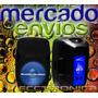 Combo De Bafles 15 Activo+pasivo Hyper Leds Azul C/regalos.