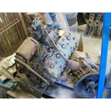 Motor Y Caja Ford V8 Flathead 59ab 1947 - 239 Ci - 100 Hp