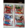 Disney Pixar Cars Pack 4 Autitos, Chick, Rayo, Dj Y Dusty