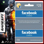 Facebook Credits 25 Usd - Gamespy