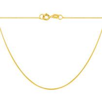 Corrente Veneziana 40cm Em Ouro 18k/750 + Embalagem